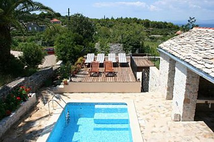 Holiday home H(6+2) Mirca - Island Brac  - Croatia