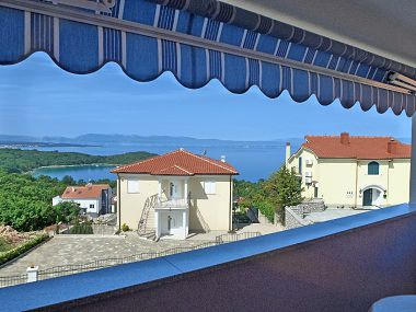 Apartments A1(4+1) Njivice - Island Krk