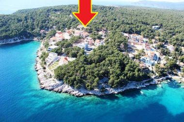 Apartments Deni - 70m from beach: A1(4+1) Cove Osibova (Milna) - Island Brac  - Croatia