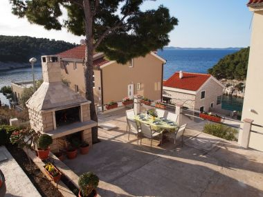 Apartments Franco - secluded paradise; A1(2+1), A2(2+1), A3(4+2) Cove Osibova (Milna) - Island Brac  - Croatia