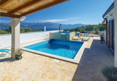 Holiday home Anabella - open swimming pool: H(7) Supetar - Island Brac  - Croatia